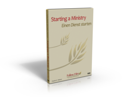 Starting a Ministry DVD set / Einen Dienst starten DVD Set CHF28.9
